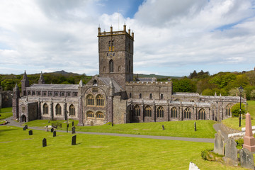 Wales Cathedral St Davids Pembrokeshire