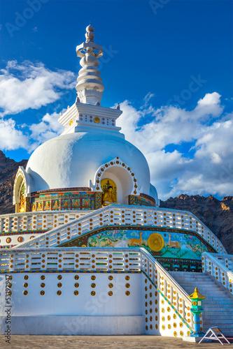 Shanti Stupa, Leh