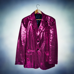 pink entertainment jacket