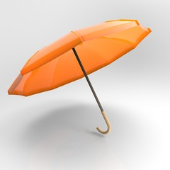 Umbrella isolated on white background