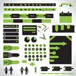 Template noir et vert