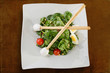 Spinach & goat cheese salad