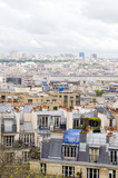 rooftops Paris France  cityscape  Basilica of the Sacred Heart