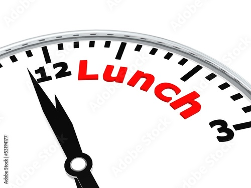 Lunch clock