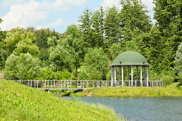 park with a rotunda