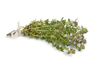 Bouquet of flowering thyme