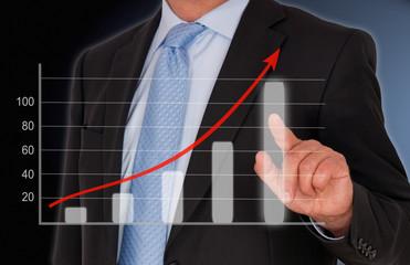 Business Sales - Umsatz Diagramm