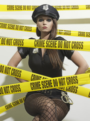 Hot Crime Scene Officer 09