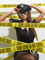 Hot Crime Scene Officer 07