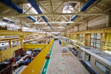 Assembling shop floor