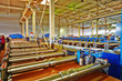 Automated line for production of metal roofing tile