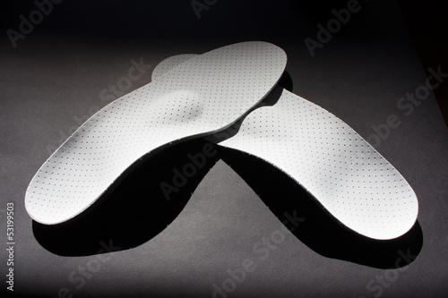 Leinwanddruck Bild Schuheinlage