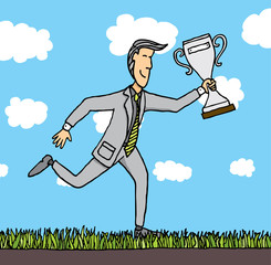 Business prize / Awarded businessman