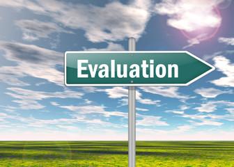 "Signpost ""Evaluation"""