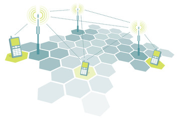 Connecting mobile phones / Telecomm