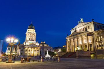 The Gendarmenmarkt in Berlin
