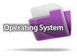 "3D Style Folder Icon ""Operating System"""