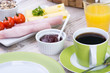 ausgewogenes frühstück