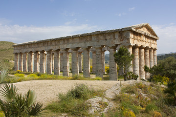 Segesta and its temple