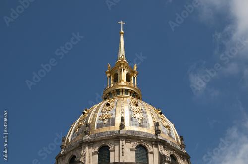 Kuppel, Invalidendom, Paris, Frankreich