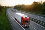 LKW auf der Autobahn 2 - 53207568
