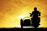 man on the sidecar