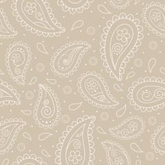 Paisley seamless background