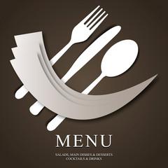 Restaurant menu