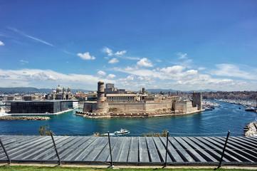 Entrée du Port de Marseille