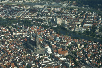 Ulm an der Donau Luftbild