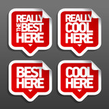 The best here stickers