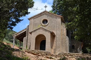 Ermita de San Jeronimo. Montaña de Montserrat