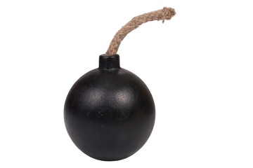 bomb isolated on white background