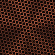 Background with Cross Pattern and Bronze Texture