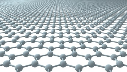 Graphene - Regular Hexagonal Pattern - 3D