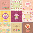 Cupcake Cards Collection
