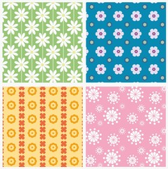 patterns with flowers