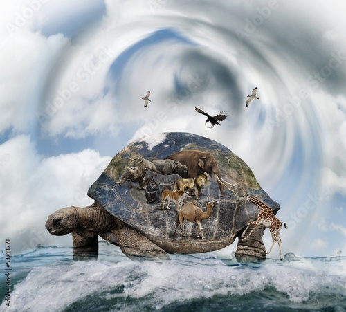 World Turtle Concept