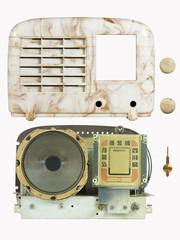 Antique Bakelite Radio Parts 06