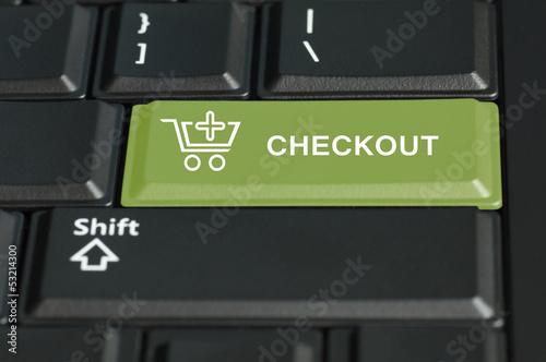 Checkout button on enter key