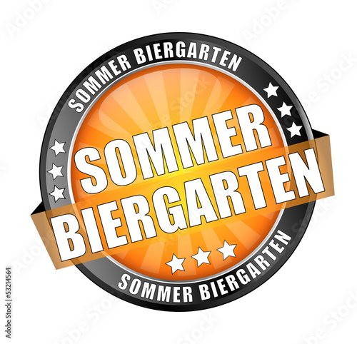 Icon Button Sommer Biergarten