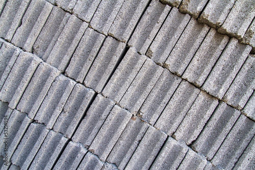 gray concrete construction block wall