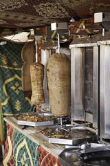 Lamb and chicken kebab