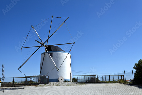 Cape Espichel Windmill, Portugal