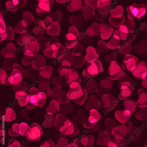 Valentine's Day romantic background. EPS 8