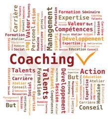 Nuage de Mots - Coaching en français