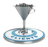 Marketing Sales Funnel - Convert Leads To Sales