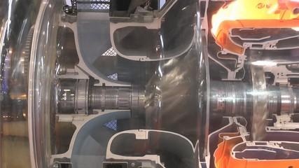 Model of a gas turbine engine