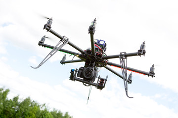 Multirotor Photography Helicopter