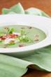 Arugula cream soup